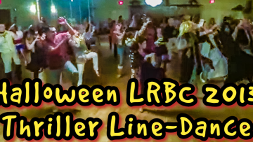 LRBCs Annual Halloween Party – Doing the Zombie Dance to Thriller