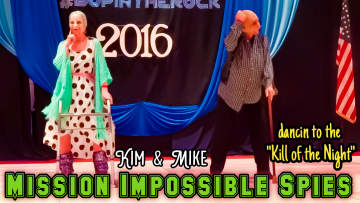 Mike & Kims Mission Impossible Routine