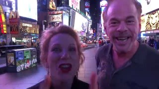 Mike & Kim: Dancing on Time Square - New York, NY