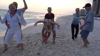 Dancing on Panama City Beach w/ Friends and Celebrating Don's 84th Birthday!!