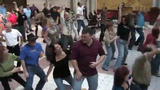 Flash Mob - Central AR did their first EVER at McCain Mall food court (1st) Oct 30.