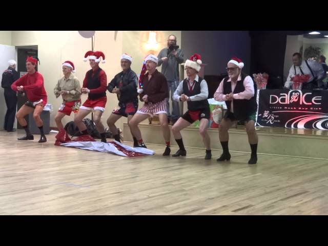 Guys Bell Ringing Performance - Bobbisox Reunion Dance