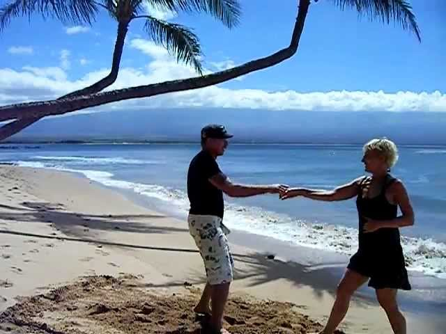 Dancing on the Beach in Maui, Hawaii