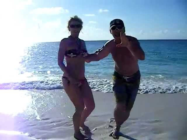 Dancing on the Beach in Aruba