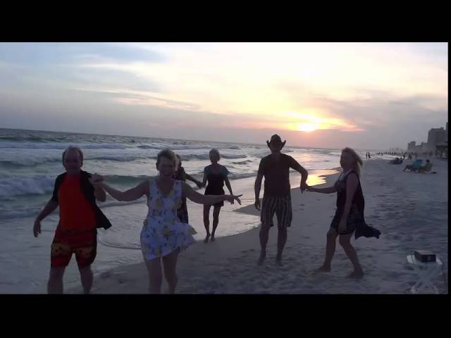 Dancing on Panama City Beach 2015