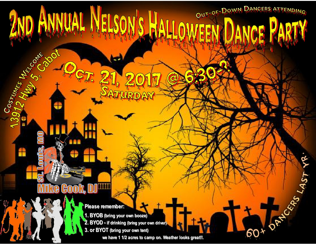 nelson halloween party 2017