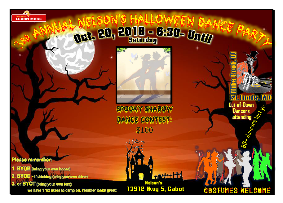 Big Halloween Party 2020 5th Annual Nelson's Big Deal Halloween Costume Dance Party: 2020