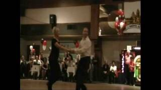 Matt Auclair & Kim Nelson: Lead - Follow Show case Dance in Cinn, OH 2008