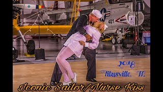 Iconic Sailor & Nurse Kiss - Kissing Strangers