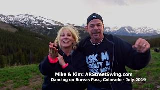 Mike & Kim: Dancing on Boreas Pass, Colorado