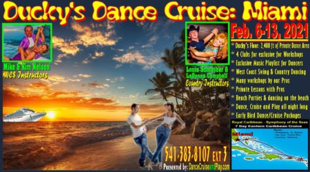 2021 Ducky's Dance Cruise: Miami