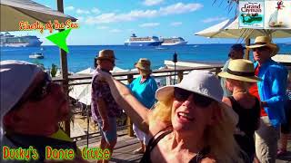 Dancing on Grand Cayman Island with Mike, Kim and friends