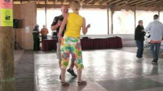 Michael Thomas Swag dancing with Kim Nelson at Shag-A-Rama 2009