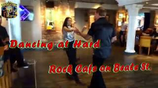 Hard Rock Cafe on Beale St. Memphis: Dancing w/ Desiree