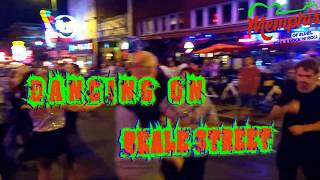 Dancing on Beale Street in Memphis, TN
