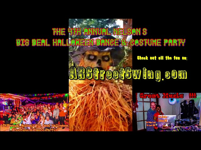Nelson 4th Annual Big Deal Halloween Dance & Costume Party 2019