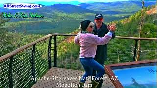 Dancing on Mogollon Rim: In the morning-Jan2021