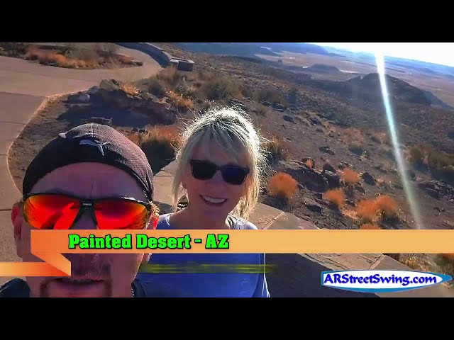 The Petrified Forest Nation Park, AZ: Painted Desert Pt2