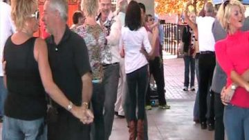 Dancing at the RiverMarket by the LR West Coast Dance Club – Oct 30