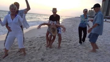 Dancing on Panama City Beach w/ Friends and Celebrating Dons 84th Birthday!!