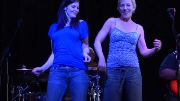 Our LR Ikettes (Candace & Kim) backup dance to Proud Mary at BB Kings