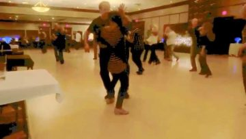 Sophy Kdep & Mike Nelson dancing at Jammin in July 2014.