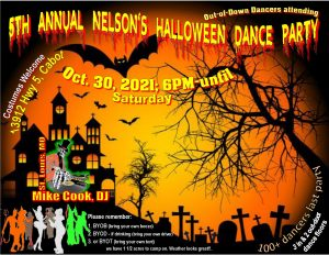 The Nelson's 5th Annual Big Deal Halloween Dance & Costume Party @ The Nelson's | Cabot | Arkansas | United States